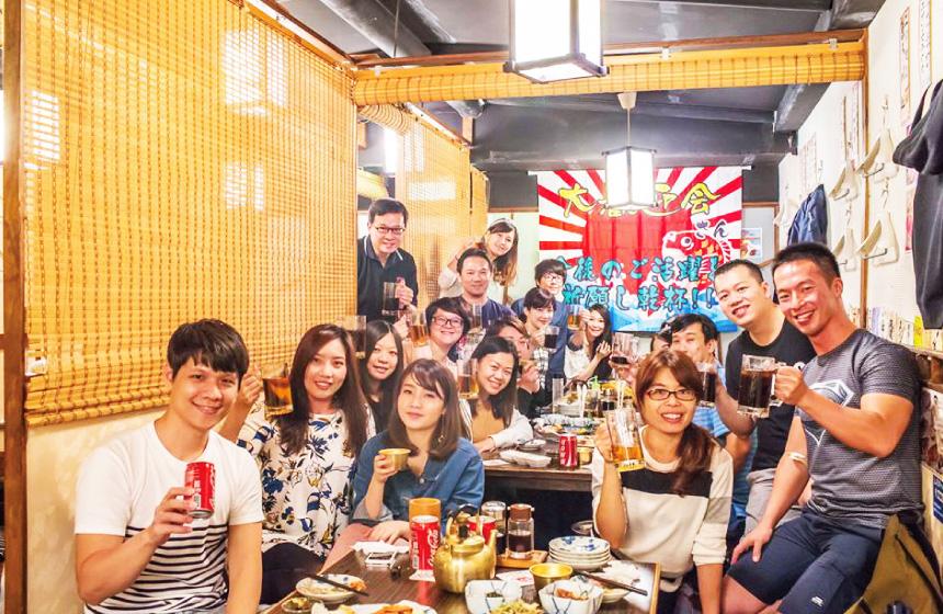 台北にある日本食でのインターンシップ!日本食文化を発信!