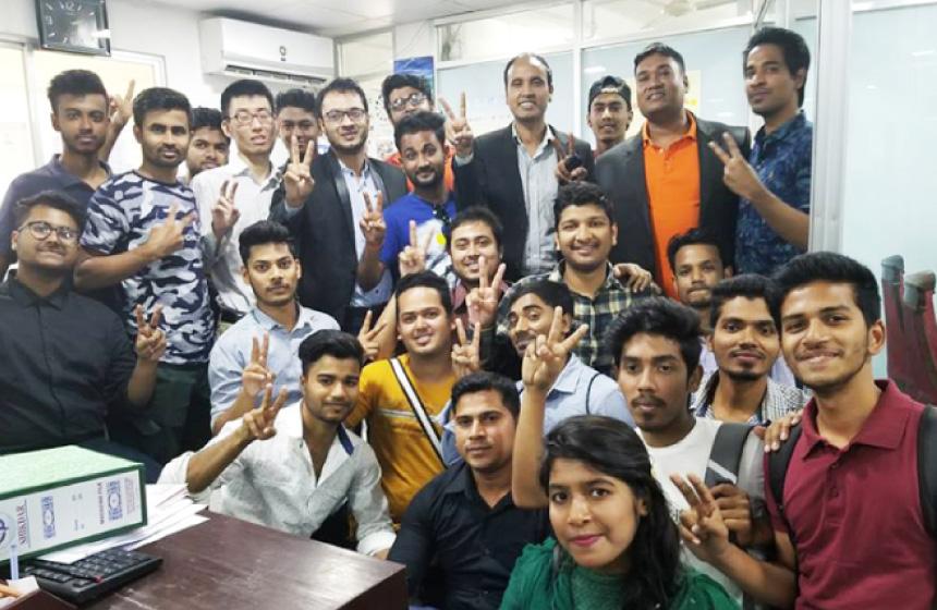 バングラディシュの日本語学校で日本語教師インターン!